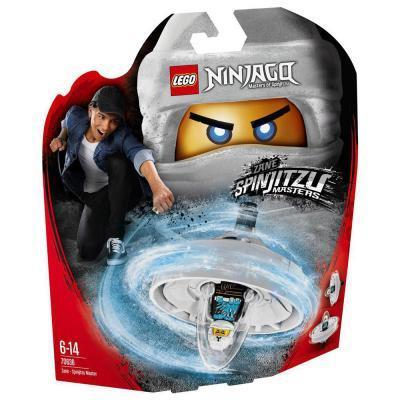Lego Ninjago Zane - Spinjitzu mester 70636