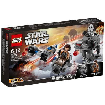 Lego Star Wars Ski Speeder vs. Első rendi lépegető Microfighters 75195