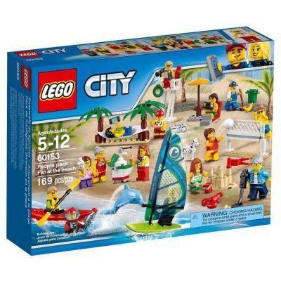 Lego City Szórakozás a tengerparton figuracsomag 60153