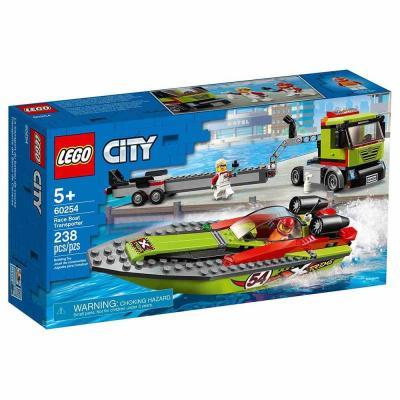 LEGO City Versenycsónak szállító 60254