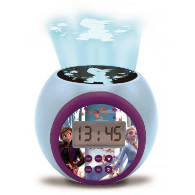 Jégvarázs projektoros ébresztő óra hanggal és időzítővel