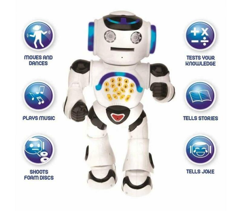 Oktató POWERMAN® Interaktív beszélő járó Robot távirányítóval
