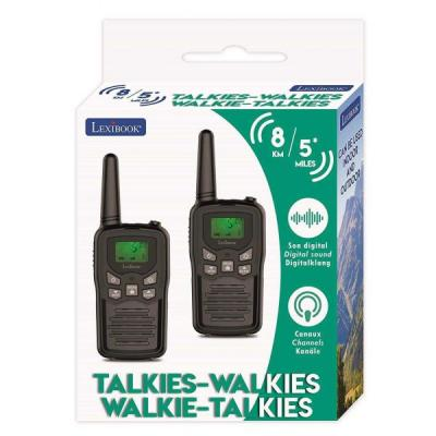 Digitális  Walkie Talkie 8 km-es hatótávval, 8 csatorna