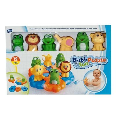 Állatos fürdőjáték készlet