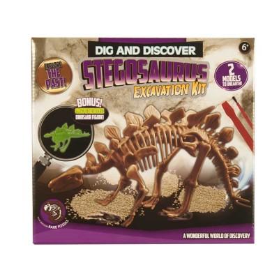 Dinoszaurusz régész készlet, Stegosaurus