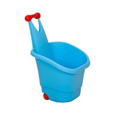 Gurulós játéktároló, kék