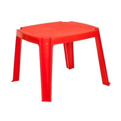 Műanyag gyerek asztalka, piros