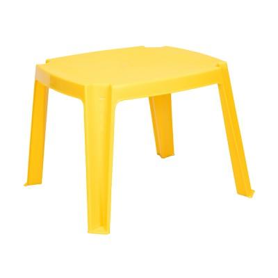 Műanyag gyerek asztalka, sárga