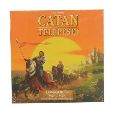 Catan telepesei, Lovagok és városok kiegészítő