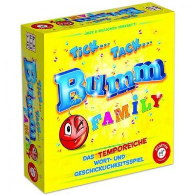 Tick..Tack.. Bumm Family társasjáték