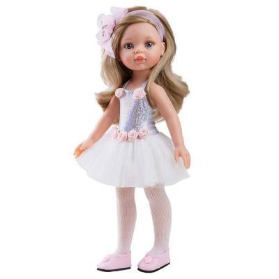 Carla balerina játékbaba, 32 cm