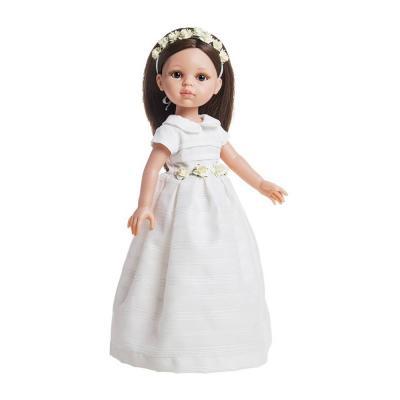 Carol menyasszonyi ruhás játékbaba, 32 cm