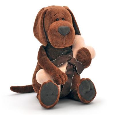 Cookie plüss kutya csonttal, 20 cm