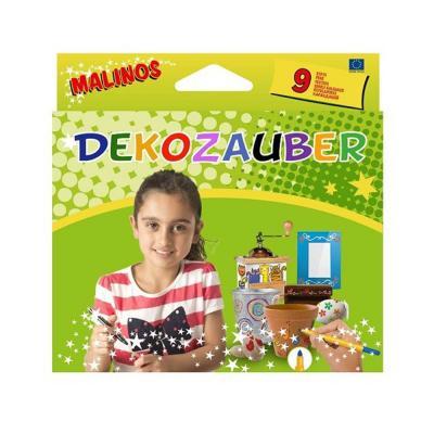 Malinos Deco toll 9 db-os, bármilyen felületre