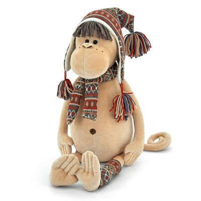 Irma plüss majom sapkában, 25 cm
