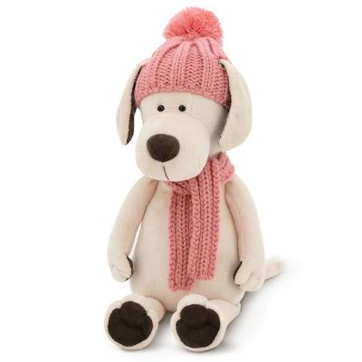 Plüss kutya - Candy téli ruhában
