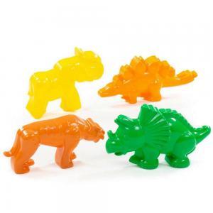 Dinoszauruszos homokozóforma, 4 darabos