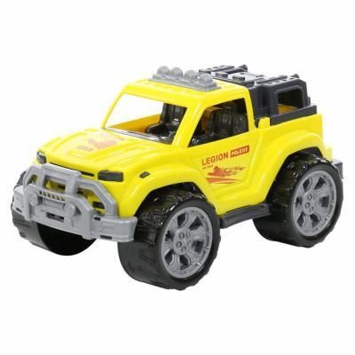 Játék terepjáró autó, sárga