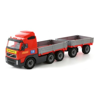 Volvo pótkocsis teherautó 45cm