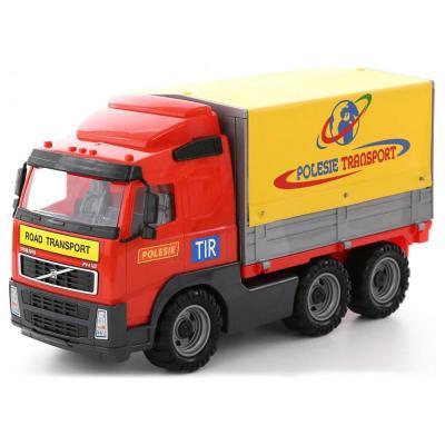 Volvo ponyvás teherautó
