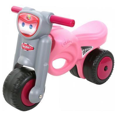 Rózsaszín lábbal hajtós kismotor