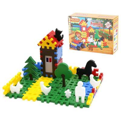 Vidéki élet építőjáték, 120 darabos