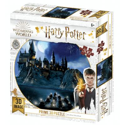 Harry Potter Hogwarts 3D puzzle, 500 darabos