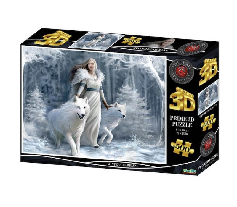 Téli Őrzők 3D puzzle, 500 darabos