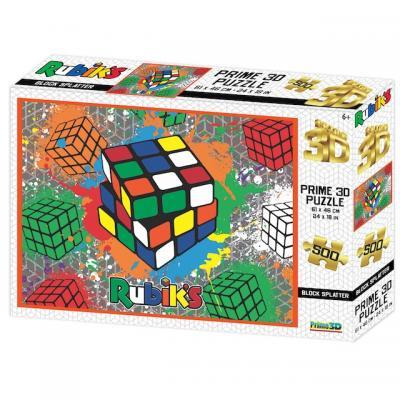 Rubik kocka 3D puzzle, 500 darabos