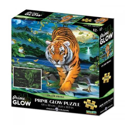 Tigris neon puzzle, 1000 darabos