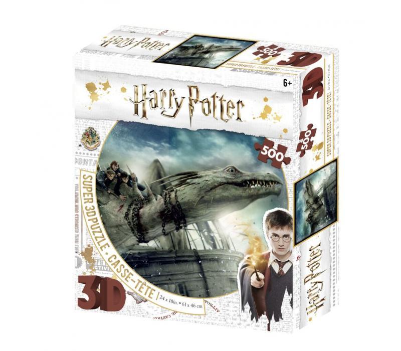 Harry Potter Norbert 3D puzzle, 500 darabos