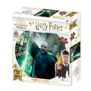 Harry Potter Voldemort 3D puzzle, 500 darabos