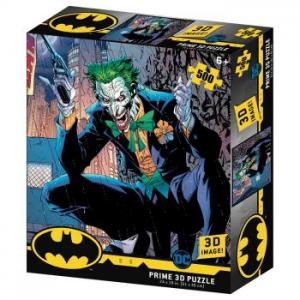 DC COMICS Joker 3D puzzle, 500 darabos
