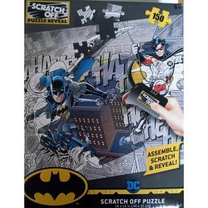 DC COMICS Batman és Robin kaparós puzzle, 150 darabos