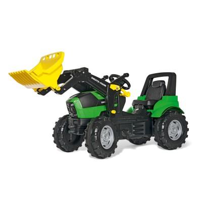 Rolly FarmTrac Deutz-Fahr Agrotron 7250 TTV pedálos markolós traktor