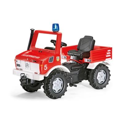 Rolly FarmTrac Mercedes Unimog pedálos tűzoltóautó