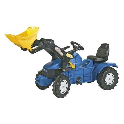 Rolly FarmTrac New Holland TD 500 pedálos traktor markolóval