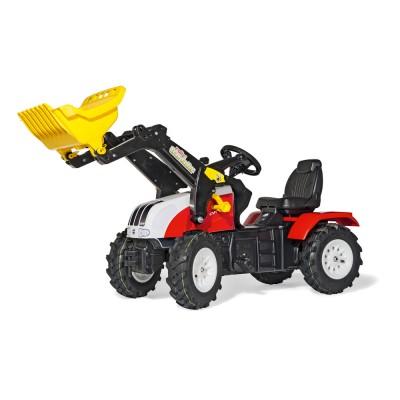 Rolly FarmTrac Steyr CVT 6230 pedálos markolós traktor