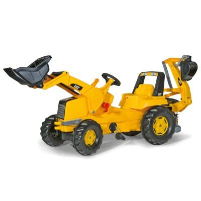 Rolly Junior CAT pedálos markolós traktor exkavátorral