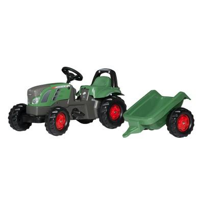 Rolly Kid Fendt Vario pedálos traktor utánfutóval