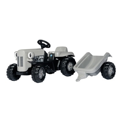 Rolly Kid Fergie pedálos traktor utánfutóval