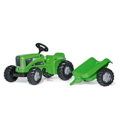 Rolly Kiddy Futura pedálos traktor utánfutóval