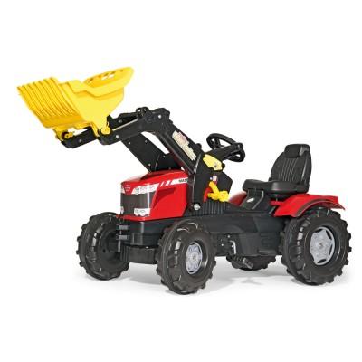 Massey Ferguson 8650 markolós pedálos traktor