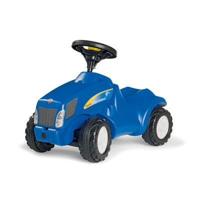 Rolly Minitrac New Holland T6010 lábbal hajtós mini traktor