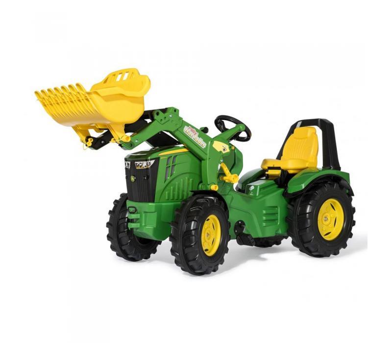 Rolly X-Trac Premium John Deere 8400R pedálos markolós traktor