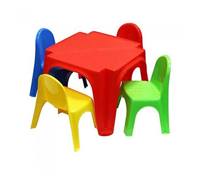 Starplast gyerek asztal négy székkel