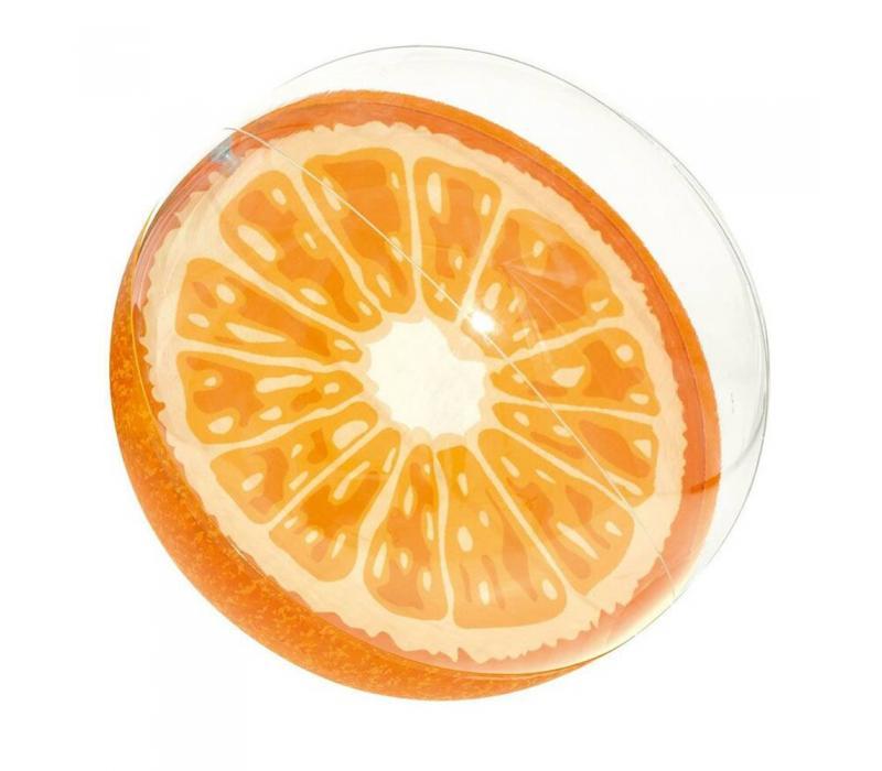 Narancs strandlabda, 46 cm