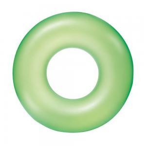 Neonzöld úszógumi, 91cm