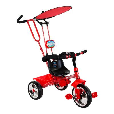 Piros fedeles tricikli