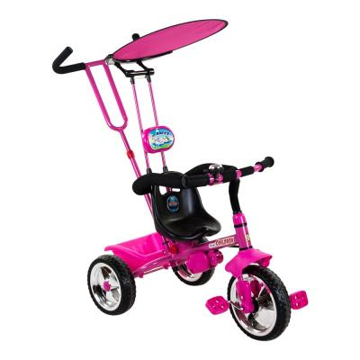 Rózsaszín fedeles tricikli